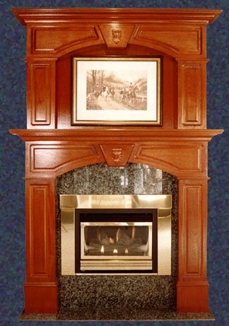 FIREPLACE MANTEL TYPES